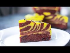6 Spoon Chocolate Custard Cake | Eggless & Without Oven | Yummy - YouTube Eggless Vanilla Sponge Cake, Eggless Chocolate Cake, Chocolate Pudding Cake, Cocoa Cake, Chocolate Custard, Eggless Baking, Chocolate Recipes, No Cook Desserts, Party Desserts