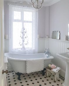 Here are the Farmhouse Bathroom Remodel Ideas. This article about Farmhouse Bathroom Remodel Ideas was posted under the Bathroom category. Cottage Bathroom Design Ideas, Vintage Bathroom Decor, Victorian Bathroom, Vintage Bathrooms, Bathroom Interior, Modern Bathroom, Bathroom Ideas, Bathroom Remodeling, Master Bathroom