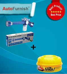 Combo Offer: Water Spray Gun + Polish Just @ 399 Shop Now Stock Limited http://www.autofurnish.com/autofurnish-car-polish-combo-water-spray-gunpolish