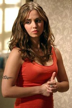 Eliza Dushku as Faith - Buffy the Vampire Slayer