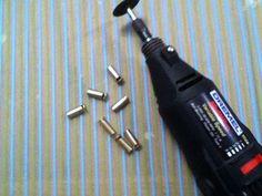 How to make bullet earrings!