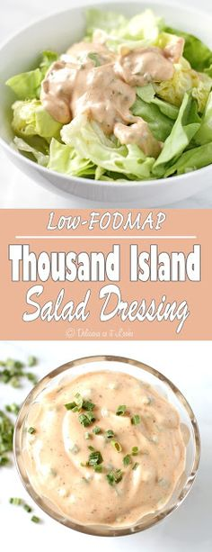 Low-FODMAP Thousand (1,000) Island Salad Dressing / Delicious as it Looks