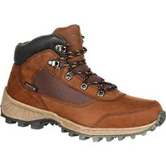 Rocky Mens 5 Stratum Waterproof Outdoor BootBrown Full Grain LeatherNylonUS -- Read more reviews of the product by visiting the link on the image.(This is an Amazon affiliate link and I receive a commission for the sales)