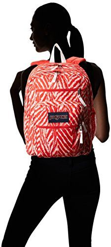 JanSport Big Student Backpack - Coral Peaches Wild At Heart / 17.5    - Click image twice for more info - See a larger selection of school backpacks at http://kidsbackpackstore.com/product-category/school-backpacks/ - kids, kids backpack, school backpack, everyday backpack, school bag, gift ideas, teens backpacks.