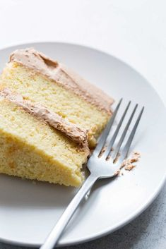 This yellow cake recipe has a delicate crumb and the perfect level of sweetness. It's the perfect cake recipe to top with your favorite frosting. The best part? This is a yellow cake recipe from scratch, meaning there are no unusual ingredients.