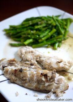Cohen Lifestyle Seafood Meals- fish & asparagus