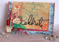 Scraps of Elegance: Chasing Rabbits Kit - Mixed Media card by Patricia Basson.  www.scrapsofdarkness.com/ScrapsOfElegance