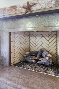 """Fireplace. Rustic Fireplace. Rustic Fireplace Ideas. FMI 42""""Georgian fireplace with polished Tennessee Limestone and reclaimed oak beam. Rustic Fireplace. #Rustic #Fireplace"""
