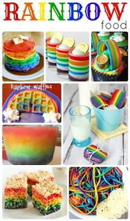Rainbow food recipes