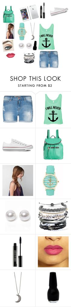 """""""cute spring outfit for school?"""" by kaikay-1 ❤ liked on Polyvore featuring Lipsy, Converse, Kensie, American Eagle Outfitters, Aéropostale, Nouv-Elle, Domo Beads, Lord & Berry and Gypsy Warrior"""