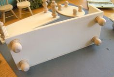 Diary of a Preppy Mom: DIY Dollhouse Furniture on the Cheap! Great turtorial. Also has how to make a bed