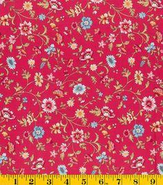 Premium Quilt Fabric- Stonehill Pink Florals