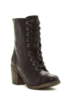 Kiss Bliss Lace-Up Boot