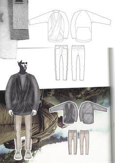 Fashion Sketchbook - fashion illustration; fashion design process; fashion portfolio // Georgia Mottershead