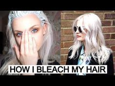 How to Safely Bleach Hair at Home? How to Safely Bleach Hair at Home? Bleaching Black Hair, Bleaching Hair At Home, Bleach Blonde Hair, Dyed Blonde Hair, Bleached Hair, Dying Hair At Home, How To Dye Hair At Home, At Home Hair Color, Dying Your Hair