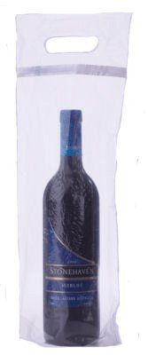 Wine To Go Bag Case of 250  Our Plastic Wine Bags are ideal for a restaurant setting. Wine to go bags allow customers to take home a bottle of wine that has already been opened. Many people refer to them as wine doggy bags because they are the parallel to doggy bags used to take food home. Compared to comparable products, these plastic wine bags are priced at a substantial discount.They are ideal for a restaurant on a tight budget who wants to save money by buying wholesale. Restaura..