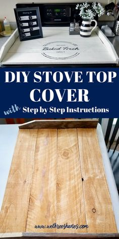 DIY Noodle Board Tutorial DIY Noodle Board Tutorial,Share DIY Kitchen Ideas This stove topper is the perfect way to add more useable space and character to your kitchen. Do It Yourself Furniture, Do It Yourself Home, Diy Furniture, Refurbished Furniture, Furniture Projects, Diy Wood Projects, Home Projects, Wood Crafts, Diy Crafts