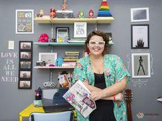 Rubyane Borba, do Decoração Afetiva, mostra como decorar um home office em um minuto.