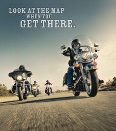 Just ride! Shoreline Harley-Davidson www.shorelinehd.com