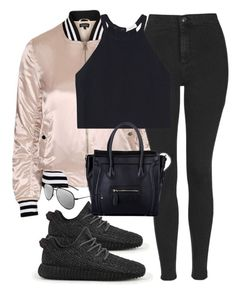 """Untitled #449"" by allysa-bojador ❤ liked on Polyvore featuring Topshop, A.L.C., adidas and Yves Saint Laurent"