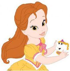 Desenhos de Princesas Baby