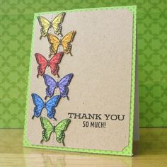 handmade thank you cards   Handmade Thank You Card