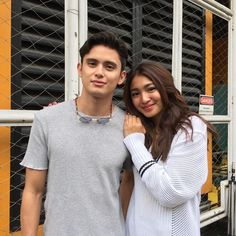 Good luck for tomorrow revolution concert. Ross Butler, Good Vibe, James Reid, Nadine Lustre, Friend Poses, Jadine, Cute Couples Goals, Couple Goals, Bicycle Girl