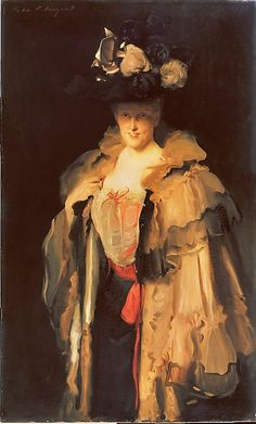 Mrs. Charles Hunter, 1898, by John Singer Sargent