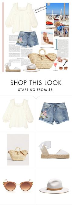 """Italian Summer"" by nadi ❤ liked on Polyvore featuring Chloé, MANGO, Manebí, rag & bone and Bobbi Brown Cosmetics"