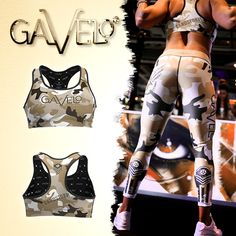 Gavelo Sandstorm Leggings and Sports-Bra! Made of Recycled polyester! ♻️ #gavelo #recycledpolyester #tights #leggings