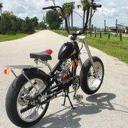wide ride custom with 20 inch wheels