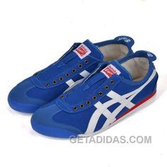 Onitsuka Tiger Mexico 66 TH331L-1390 Mens Blue White Red Free Shipping 82a04df71
