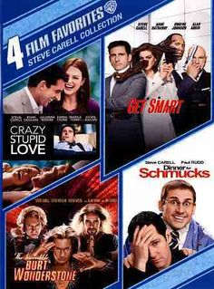 4 Film Favs: Steve Carell Collection