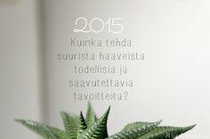 Kiia Innanmaa: 2015: saavuta tavoitteesi