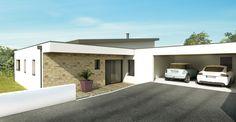 Architecture Nantes - Construction de maison contemporaine Vertou