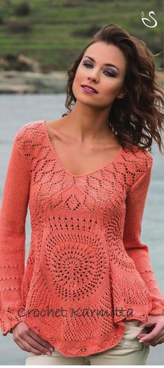 Knitted sweater!