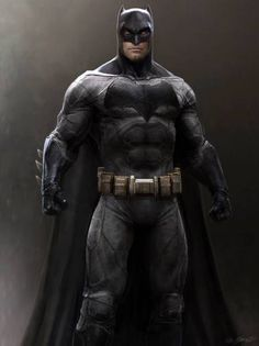 Batman v Superman concept art Batman