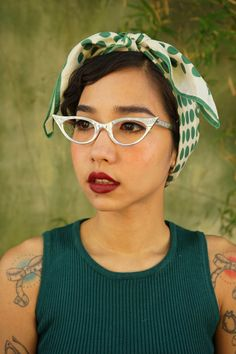 A personal favorite from my Etsy shop https://www.etsy.com/listing/244646987/vintage-cat-eye-eyeglass-1960s-frame-by