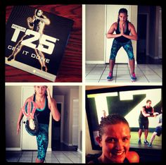 Focus T25 Workout.  11 workouts, 25 minutes a day.  Intense, but I LOVE it!