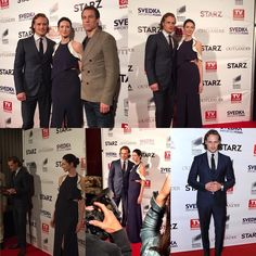 And more *NEW PICS* from yesterday of our three musketeers at the TV Guide party!! ••••••••••••••••••••••••••••••• #SamHeughan #CaitrionaBalfe #TobiasMenzies #Scot #SexySam #Scotland #Scottish #JAMMF #JamieFraser #ClaireFraser #BlackJackRandall #Outlander #OutlanderStarz #HotScot #Actors #Sam #Sexy #Sheugs #StudMuffin #Random #KingOfMen #Perfection #nofilter #Ginger #Redhead #Love #10DaysOutlanderCountdown #TVGuide #Cover #Party