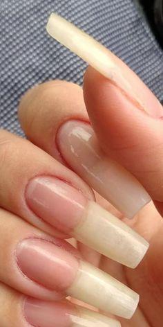Long Natural Nails, Long Nails, Shoe Nails, My Nails, Red Acrylic Nails, Nail Growth, How To Grow Nails, Nail Accessories, Simple Nails