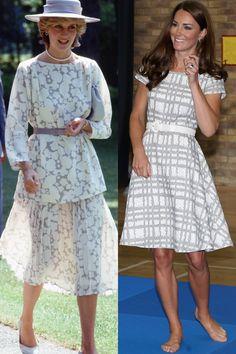 33 Times The Duchess of Cambridge Dressed Like Princess Diana