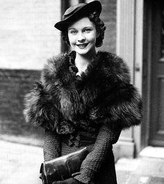 Vivien Leigh in London, c.1930's