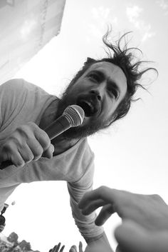 Alex Ebert (Edward Sharpe and the Magnetic Zeros). Dirty hippie whom I absolutely adore. lol