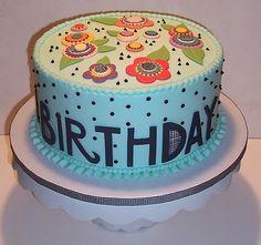 Mary Engelbreit cake!