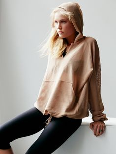 FP Movement Just Breathe Billowing Hoodie at Free People Clothing Boutique