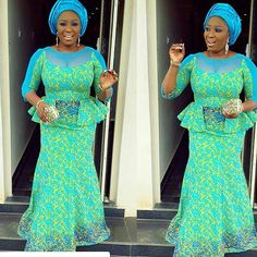 Top Ten Fasinating Aso Ebi Styles Youll Love to add to your Wardrobes  Dabonke