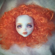 Workroom Of Goodness - exclusive OOAK dolls Monster High Repaint, Monster High Dolls, Doll Eyes, Doll Face, Ooak Dolls, Art Dolls, Monster High Custom, Doll Repaint, Just Girl Things