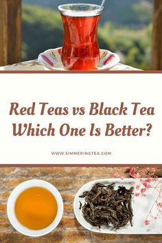 So your thinking about changing teas, but first you want to know which tea is better red or Black? Well lets compare them both Red Tea vs Black Tea and see. Red Tea Benefits, Chinese Black Tea, What Is Red, Making Iced Tea, Apple Tea, Types Of Tea, Herbal Extracts, Tea Ceremony, Tea Recipes