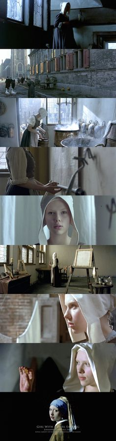 """Girl With A Pearl Earring"" (2003) Director: Peter Webber, Cinematography by: Eduardo Serra"